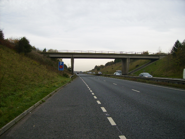 The A64 looking towards Leeds