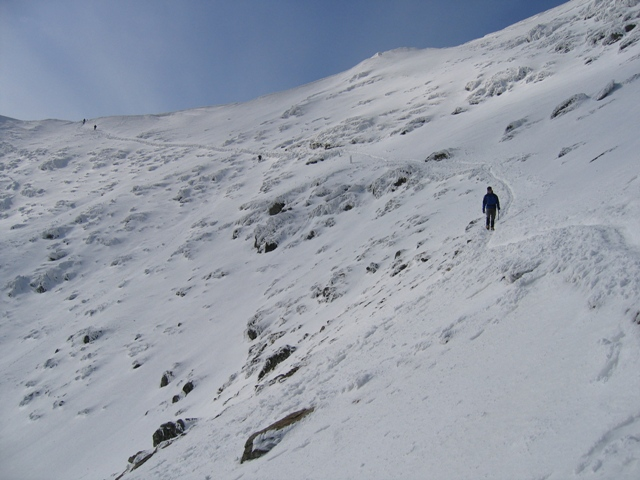 The top of the Pyg Track