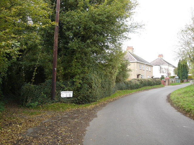 Woodyates village council estate