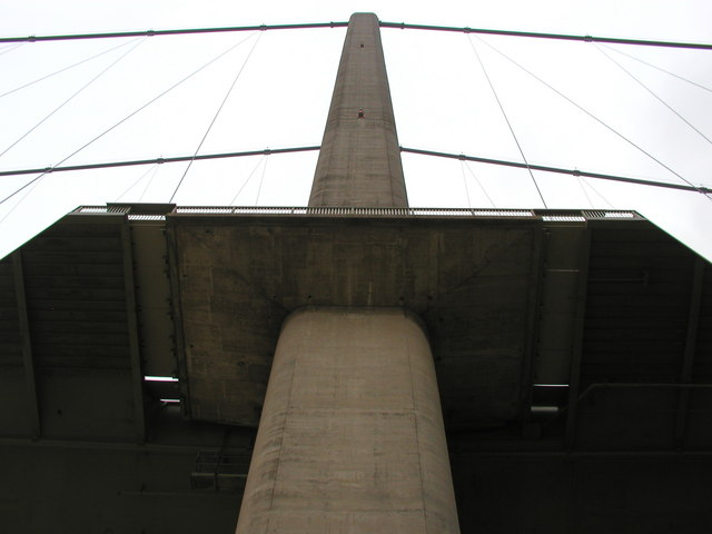 The Humber Bridge North Tower