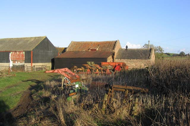 Farm buildings near High Letham