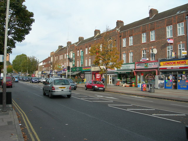 Shops on Greenford Road