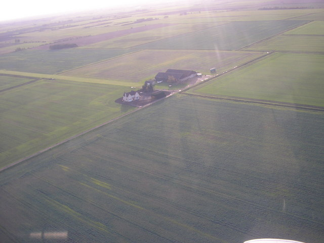 Neslam Farm and air strip,  Neslam Fen