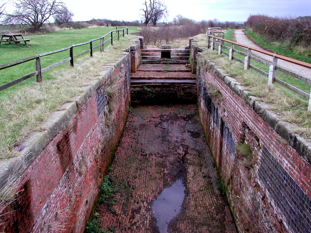 Empty Lock on the Grantham Canal