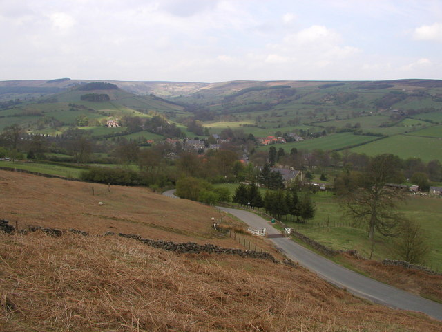 The view towards Rosedale Abbey