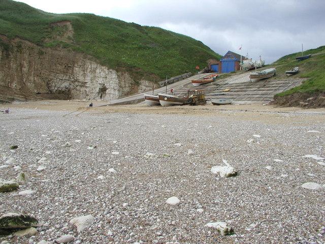 Flamborough North Bay and Lifeboat Station
