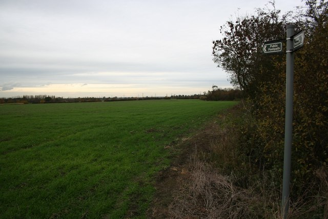 Footpath to Harby