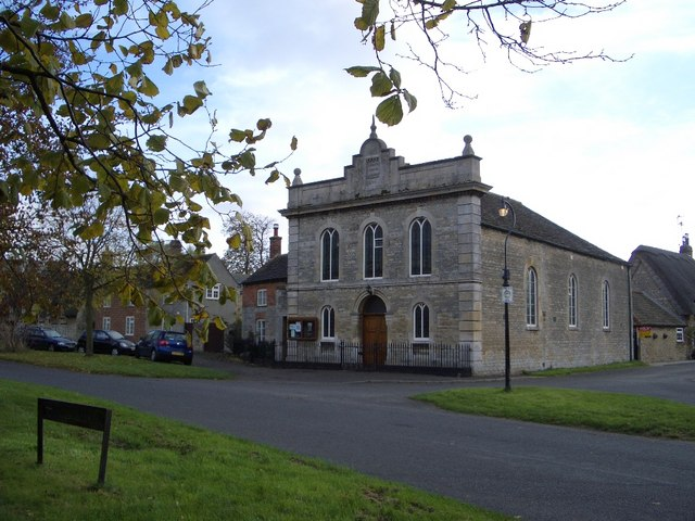The Wesleyan Chapel at Elton, Cambridgeshire