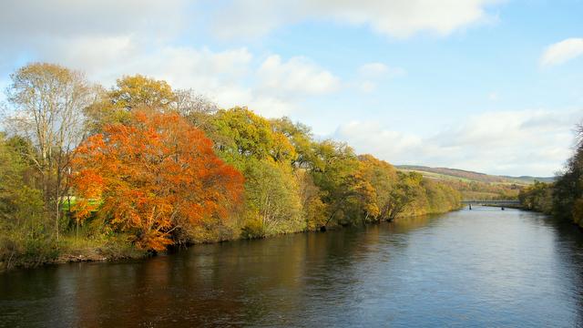 Autumn in Pitlochry