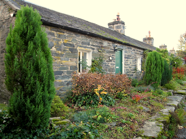 Cottages at Port-na Craig, Pitlochry