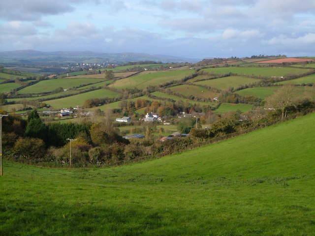 Daccombe from Barton Cross