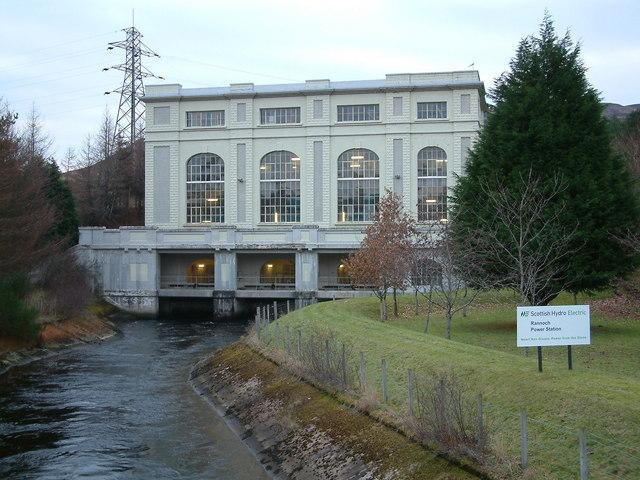 Rannoch Power Station