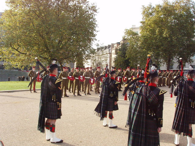 Ceremony of Remembrance, Royal Artillery Memorial