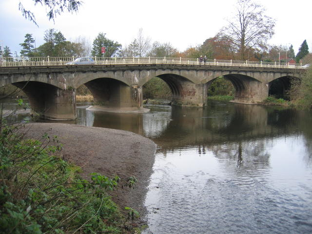 Bridge over the Teme, Tenbury Wells