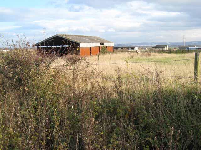Barn near Dalton Piercy