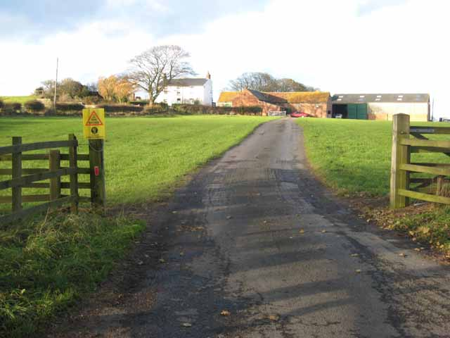 North Urn Farm, near Elwick