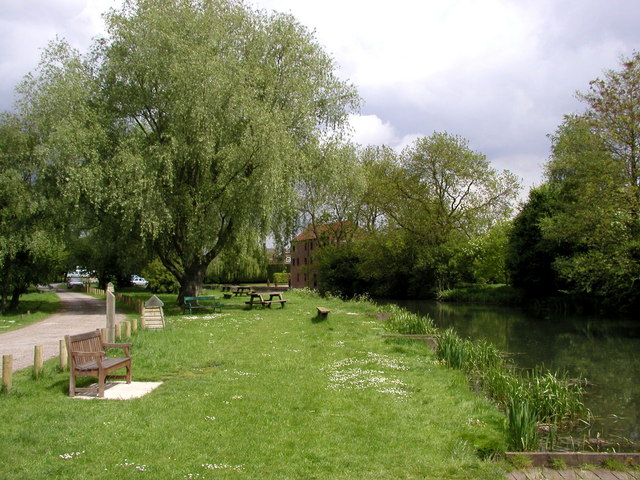 The Pocklington Canal near its Terminus