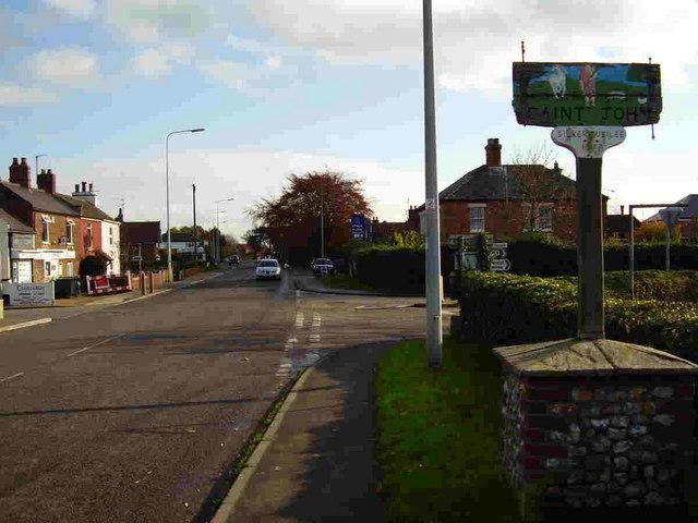 Terrington St John village