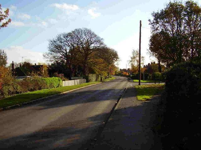 Entering Tilney St Lawrence