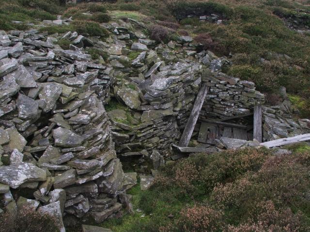 Disused Lead Workings on Wassett Fell.