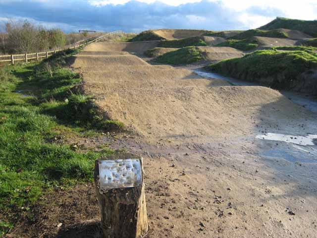 BMX track, Summerhill Country Park, Hartlepool