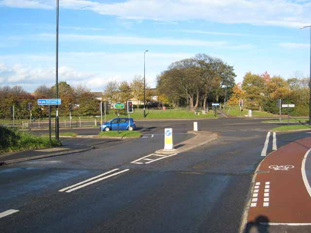 Junction on A689, Hartlepool