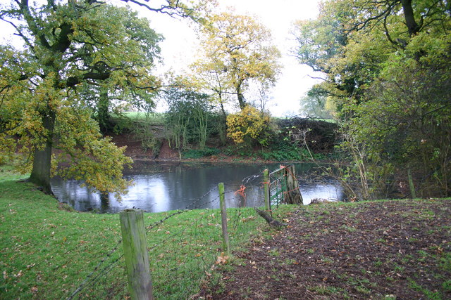 A Pool by a Public Footpath