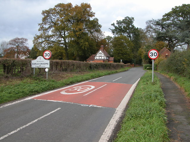 Church Lane, Earl's Croome