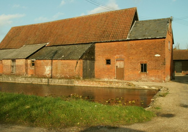 Farm buildings at White House Farm