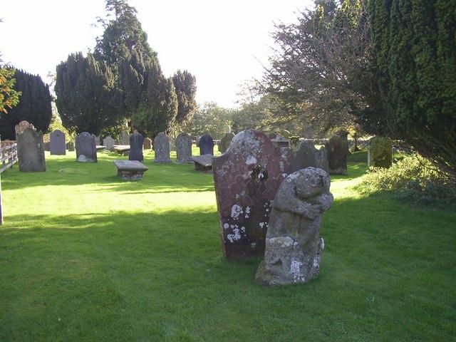 Dacre churchyard