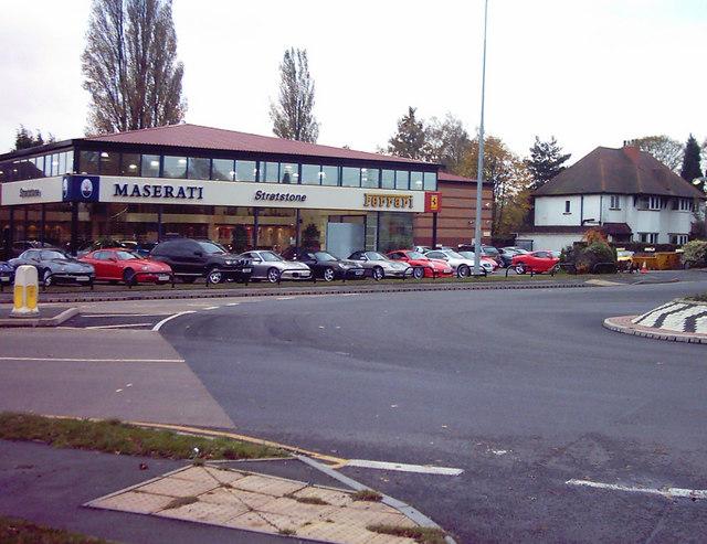 Upmarket Motor Dealer on A452 Nr Little Aston
