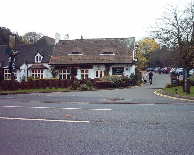 Plough & Harrow Public House  A452 Mill Green