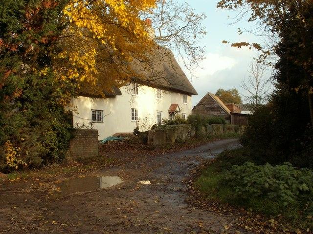 Farmhouse at Nine Elms Farm