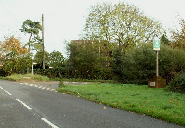 Combs village sign