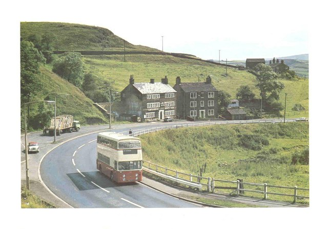 Oldham Road in 1968