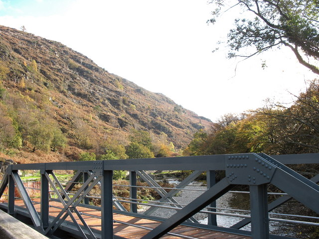 Making Progress - by  6th of November the Bryn y Felin bridge has been floored.
