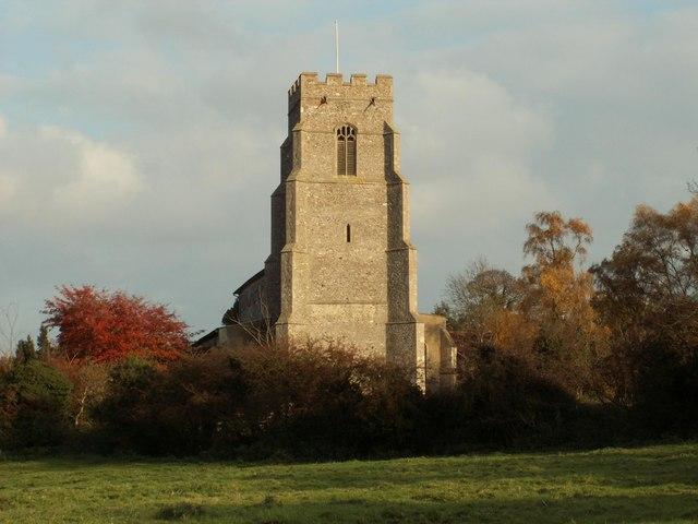 St. Mary's church, Combs, Suffolk