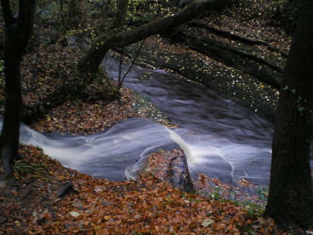River Gelt Tributary at dusk