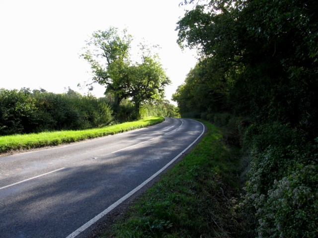 B661 towards Dillington