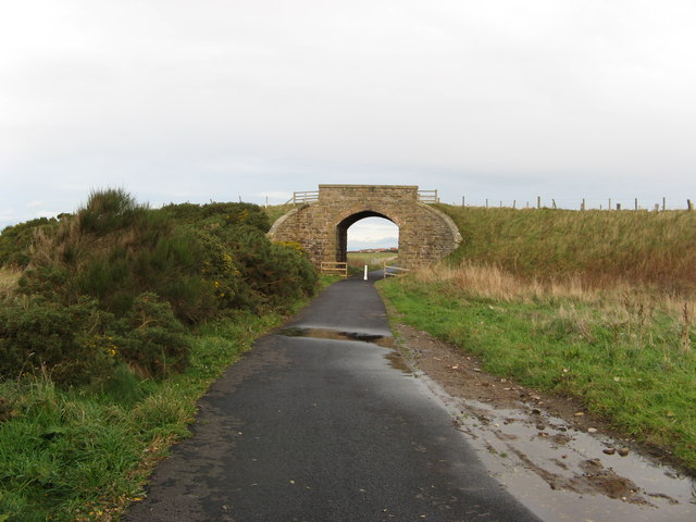 Dismantled Railway, Strathlene