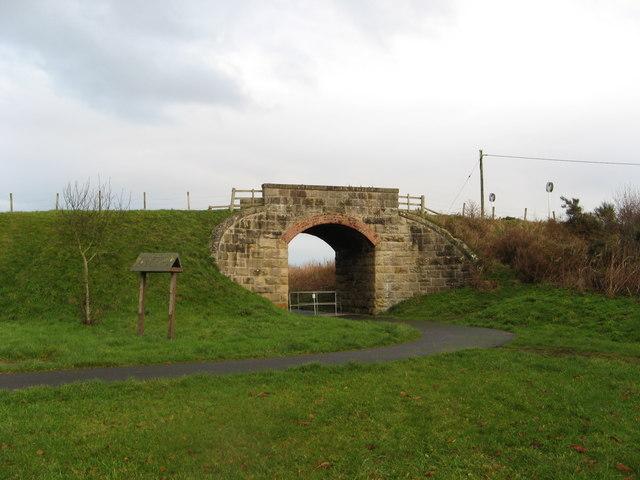 Old Railway Bridge, Garmouth