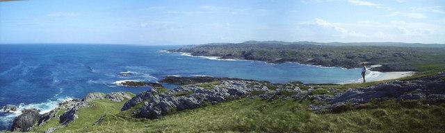 Looking towards Hogh Bay, Coll
