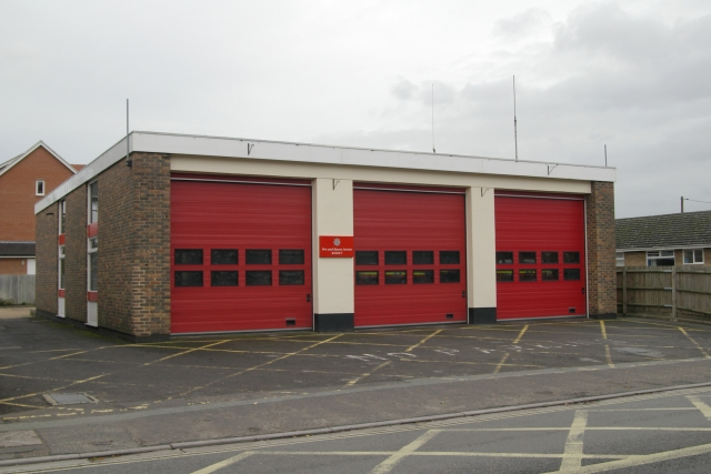 Romsey fire station