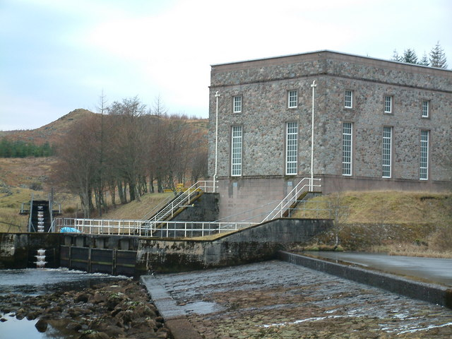 Gaur Power Station & Fish Ladder