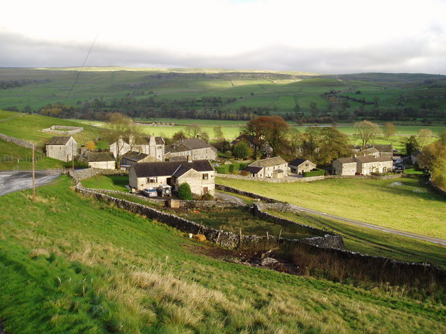 Kilnsey in Wharfedale