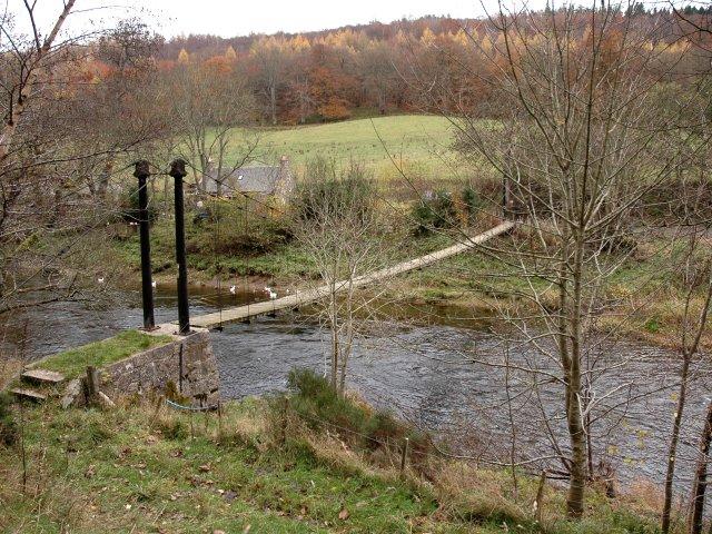 Suspension Footbridge over The River Don
