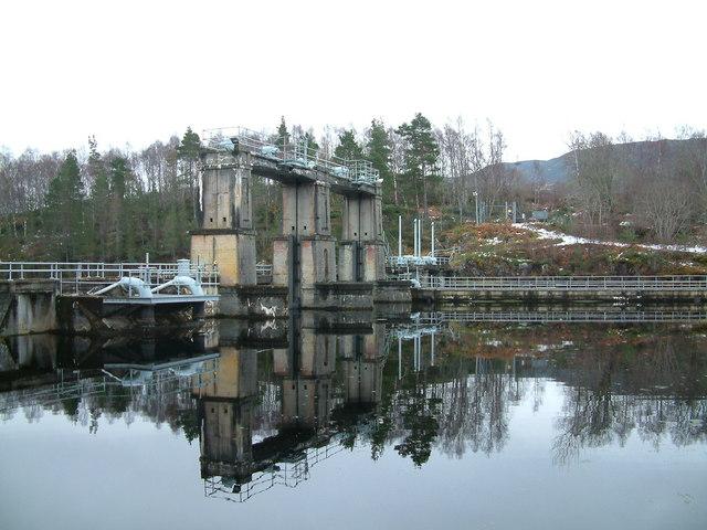 Dunalastair Intake Dam