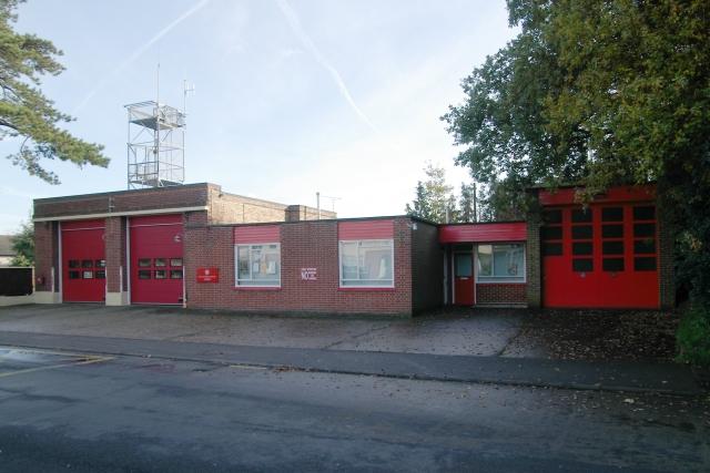 Hythe fire station