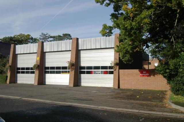 Hardley fire station