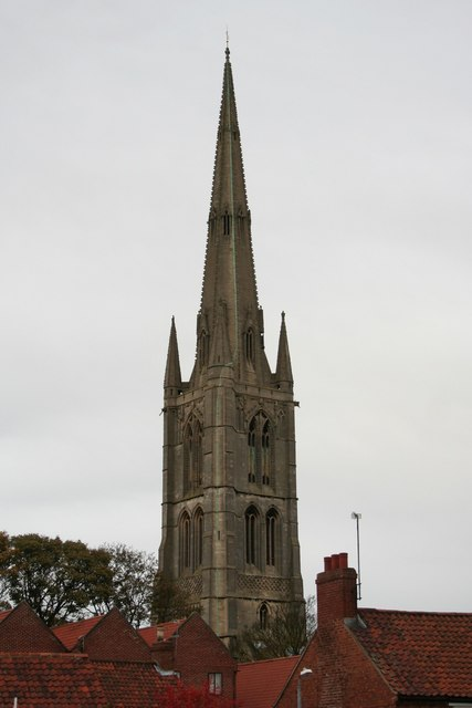 St.Wulfram's church spire